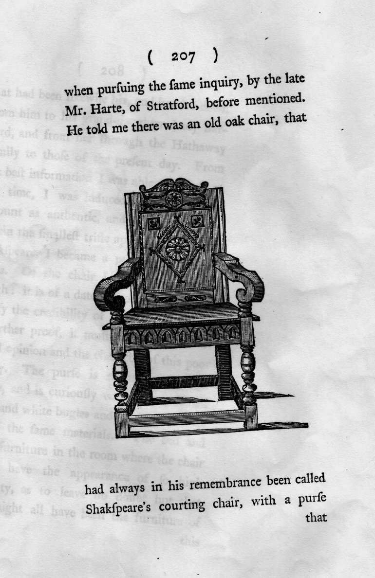 Courting Chair Engraving