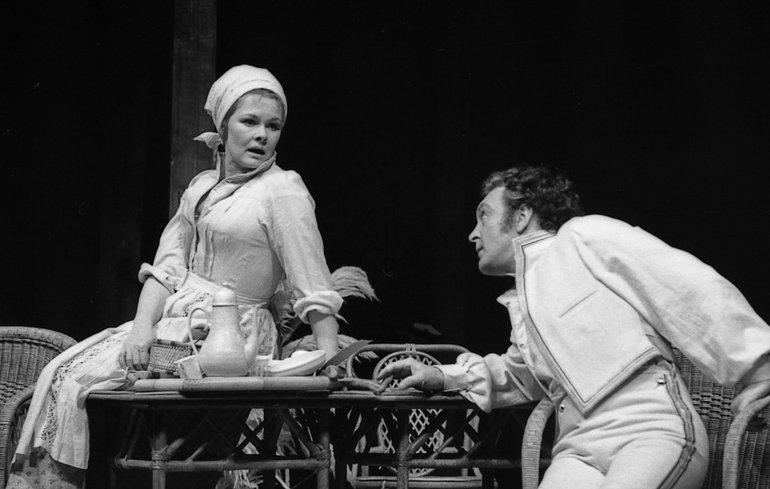 Judi Dench and Donald Sindin Beatrice and Benedick