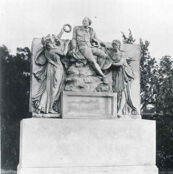 New Place monument