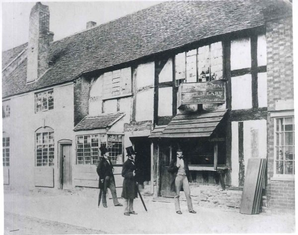 Shakespeare's Birthplace 1850