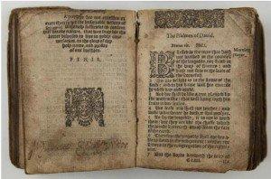 Book of Common Prayer, Shakespeare's signature