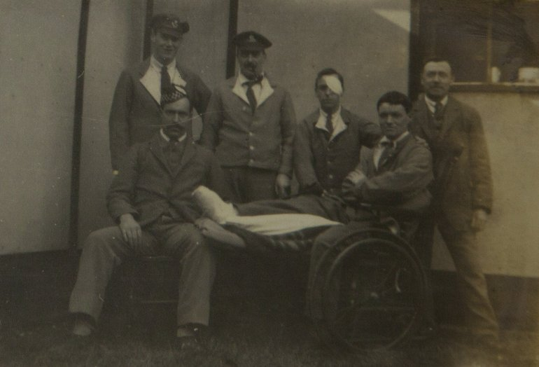 Patients at Clopton House
