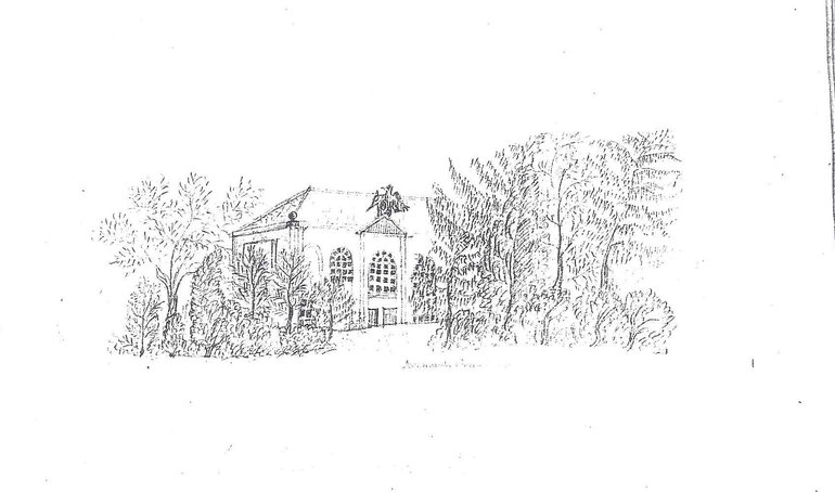 Pencil Sketch of Avonbank School