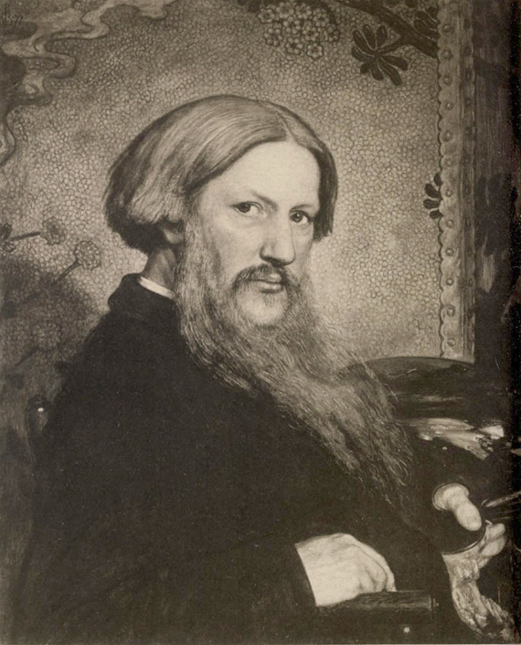 Ford Madox Brown, Self-Portrait