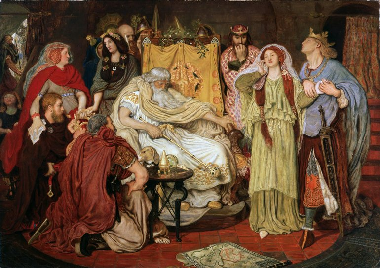 Ford Madox Brown, Cordelia's Portion