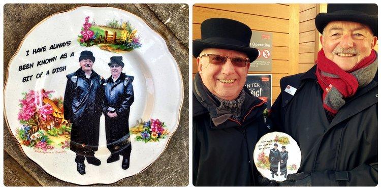 Ged and George Volunteers Plate.jpg