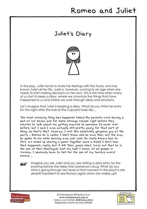 Juliet's Diary