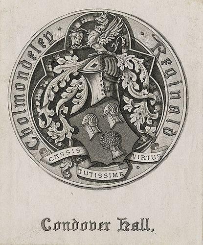 Reginald Cholmondeley bookplate.jpg