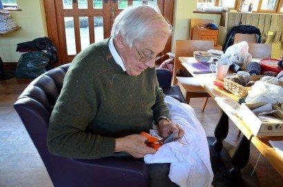 Repairing Tudor Clothes