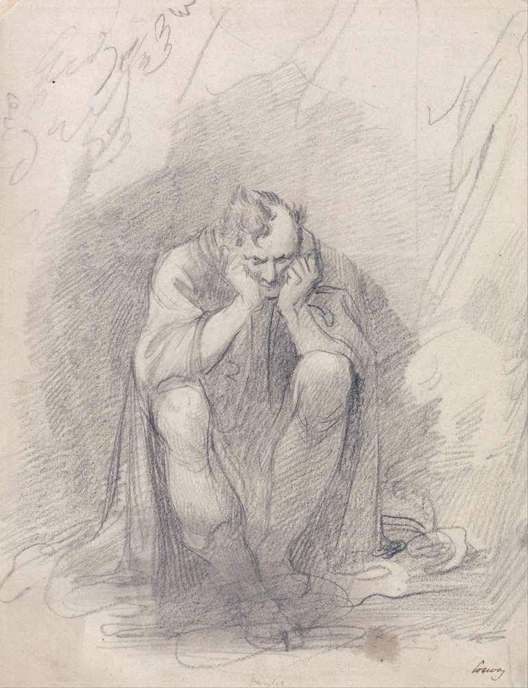Richard Cosway, Timon of Athens Before His Cave, 1805
