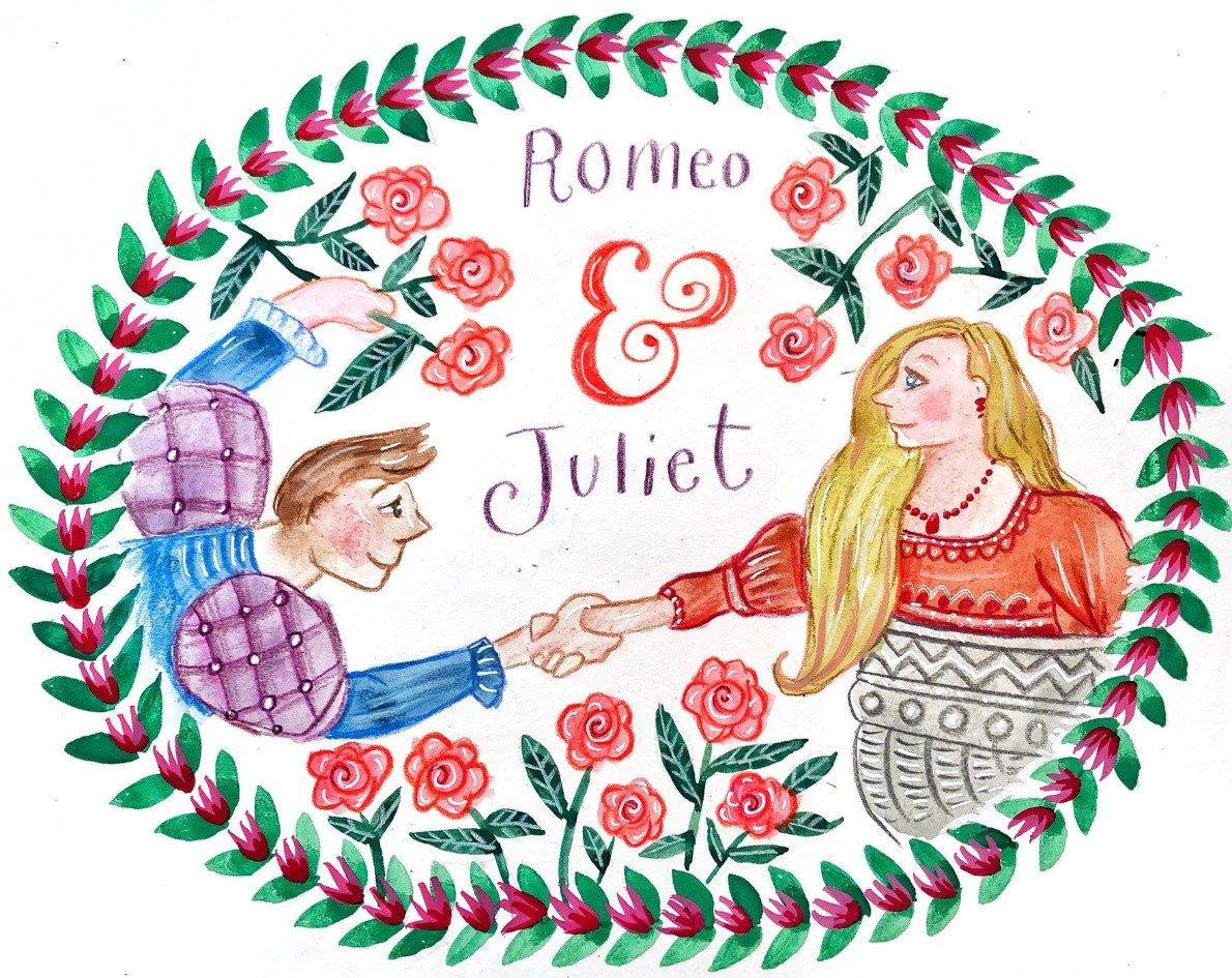 Romeo and Juliet scene