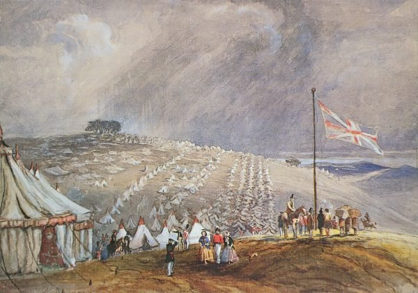 Painting of Encampment