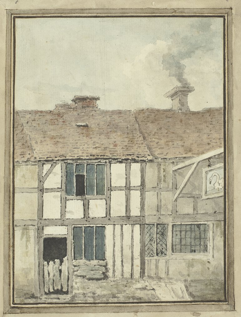 Shakespeare's Birthplace by John Richards 1769 1994-19/128