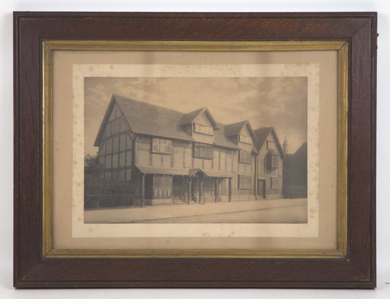 Shakespeare's Birthplace (1850), photograph