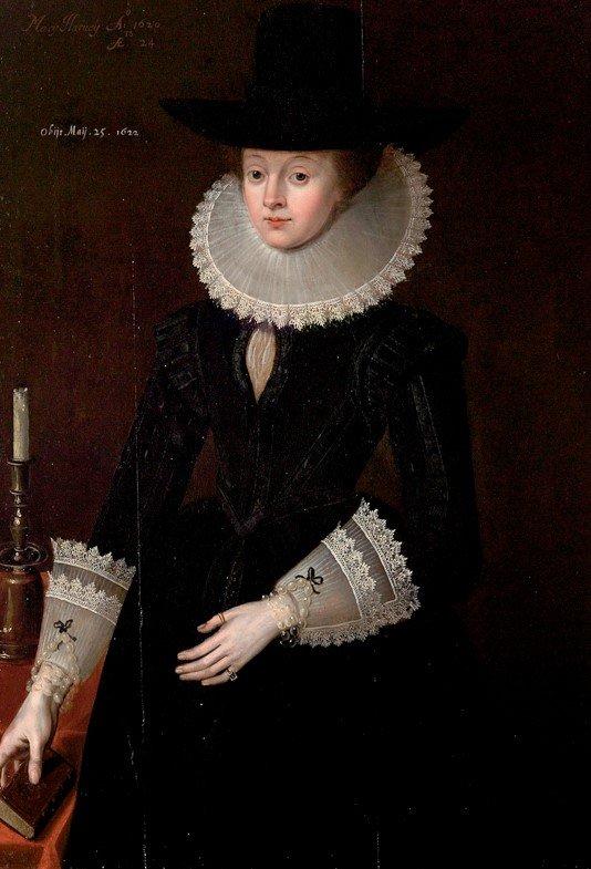 Portrait of Mary Harvey
