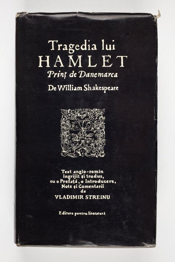 Hamlet in Romanian dustjacket