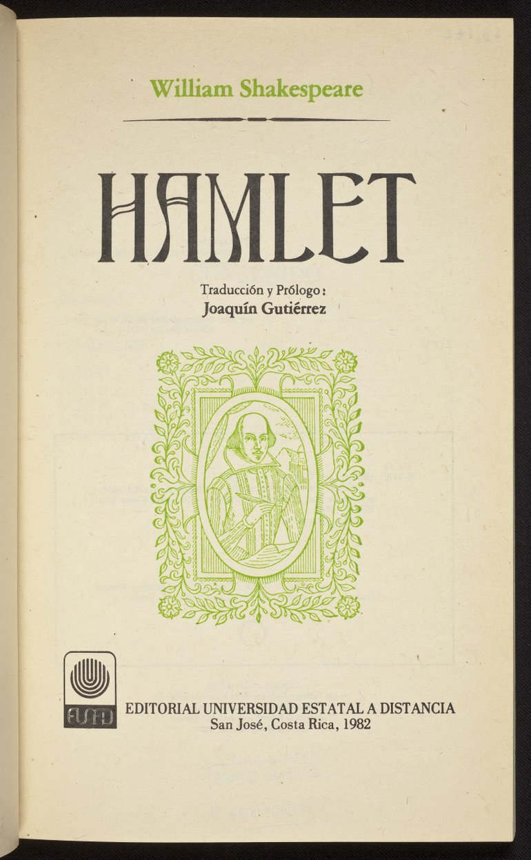 Spanish Hamlet (1982) Title page