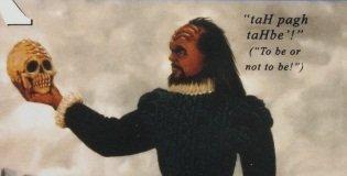 Shakespeare In Klingon