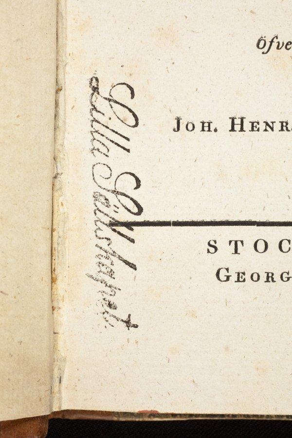 Lilla Sallskapet stamp detail