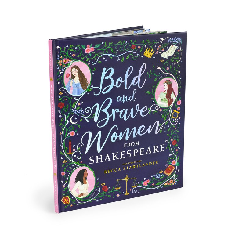 Bold and Brave Women from Shakespeare Book Cover