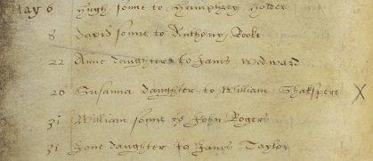 Susanna's Baptism