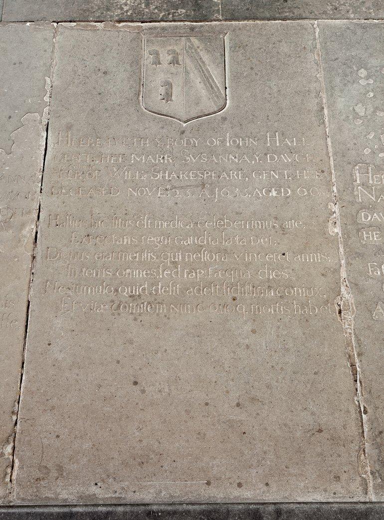 Hall gravestone