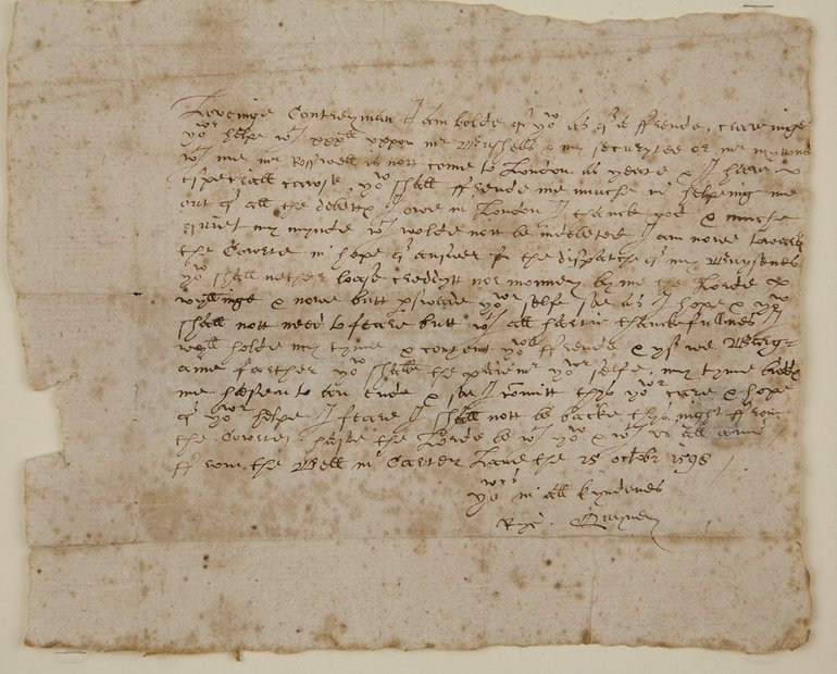 Richard Quiney Letter