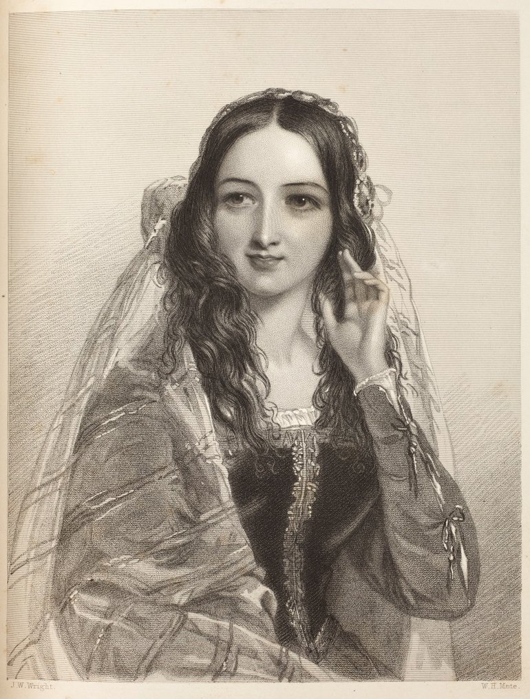 Beatrice Heroines of Shakespeare (1848)