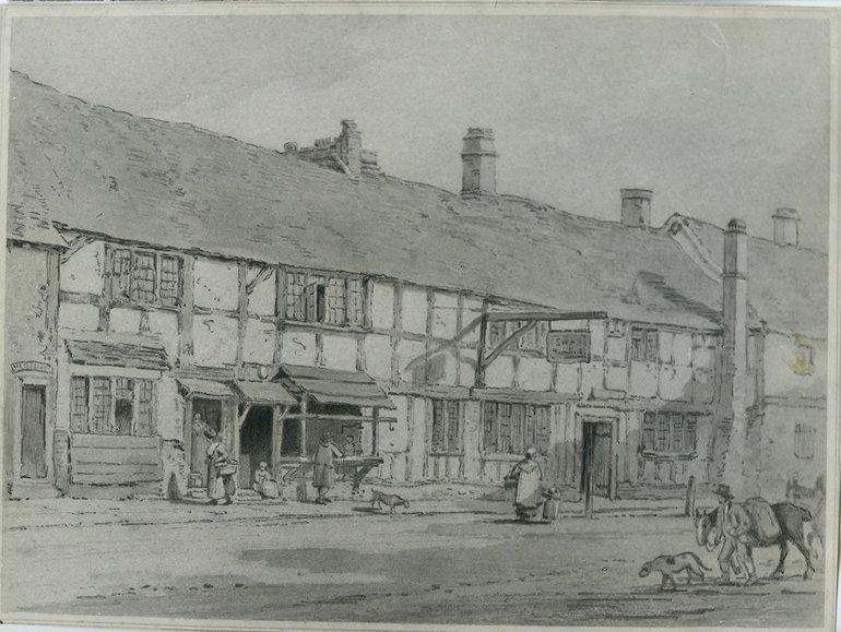 Eldridge's drawing, 1807