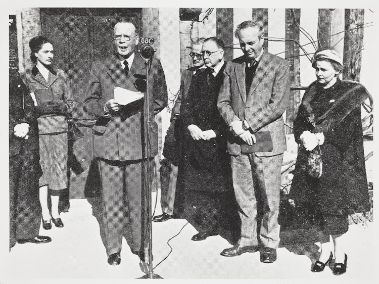 Hall's Croft Opening 1951