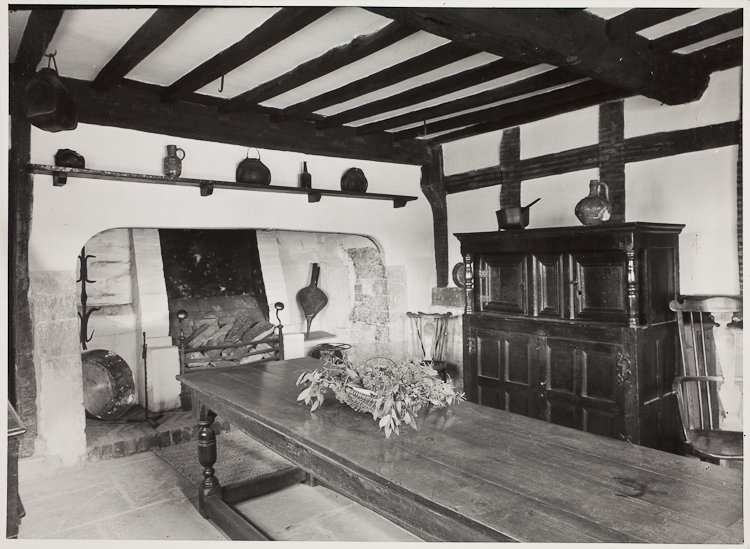 Hall's Croft Kitchen April 1951