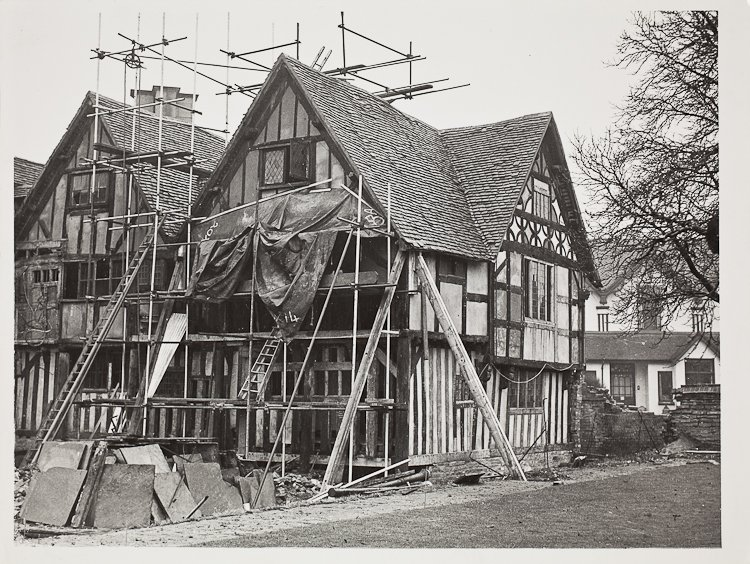 Hall's Croft Restoration Nov 1950