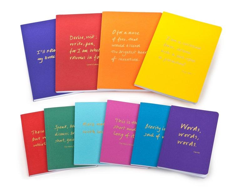 Colourblock Quotation stationery