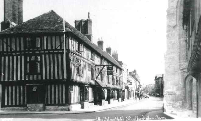 The Falcon Hotel, Stratford-upon-Avon c.1935