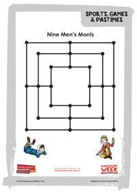 SCH.FAM.SportsGames and Passtimes.nine-mens-morris