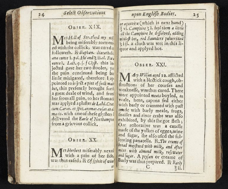 Select Observations by John Hall, 1657