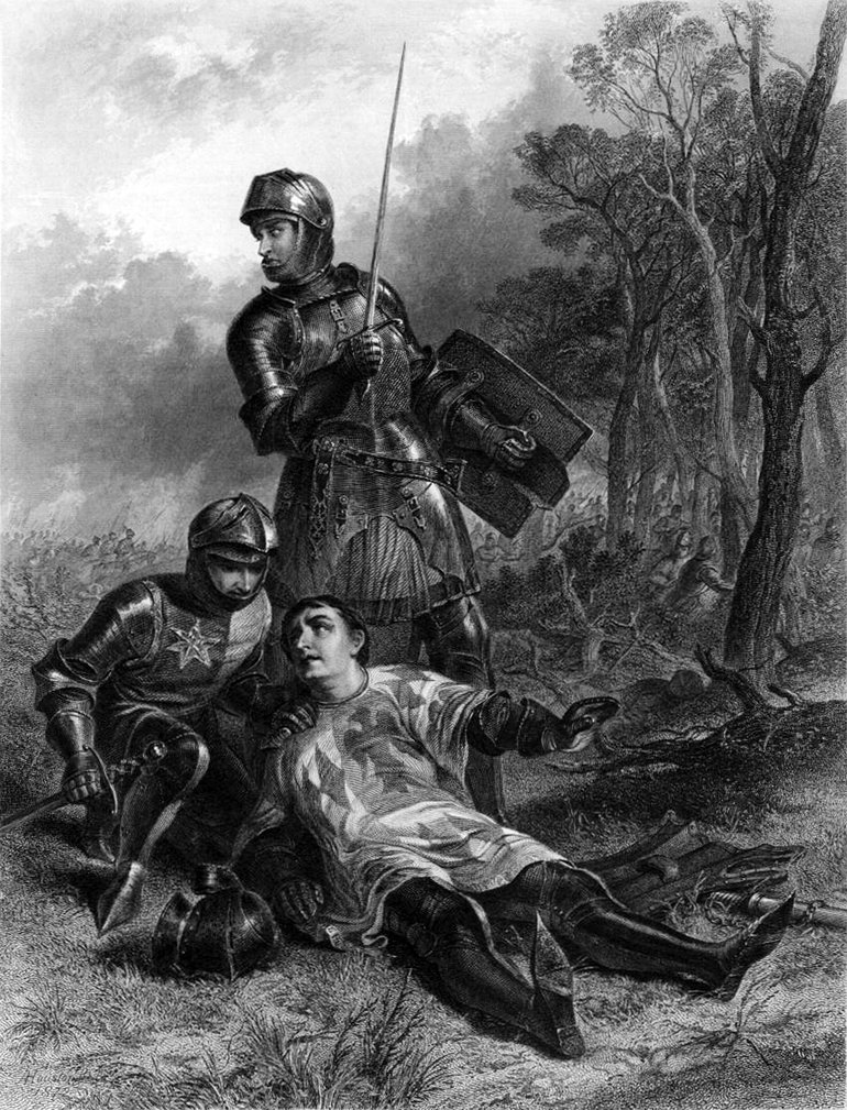 The Death of Warwick, Houston, 1872