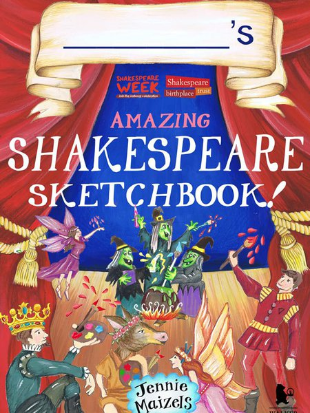 Shakespeare Sketchbook cover