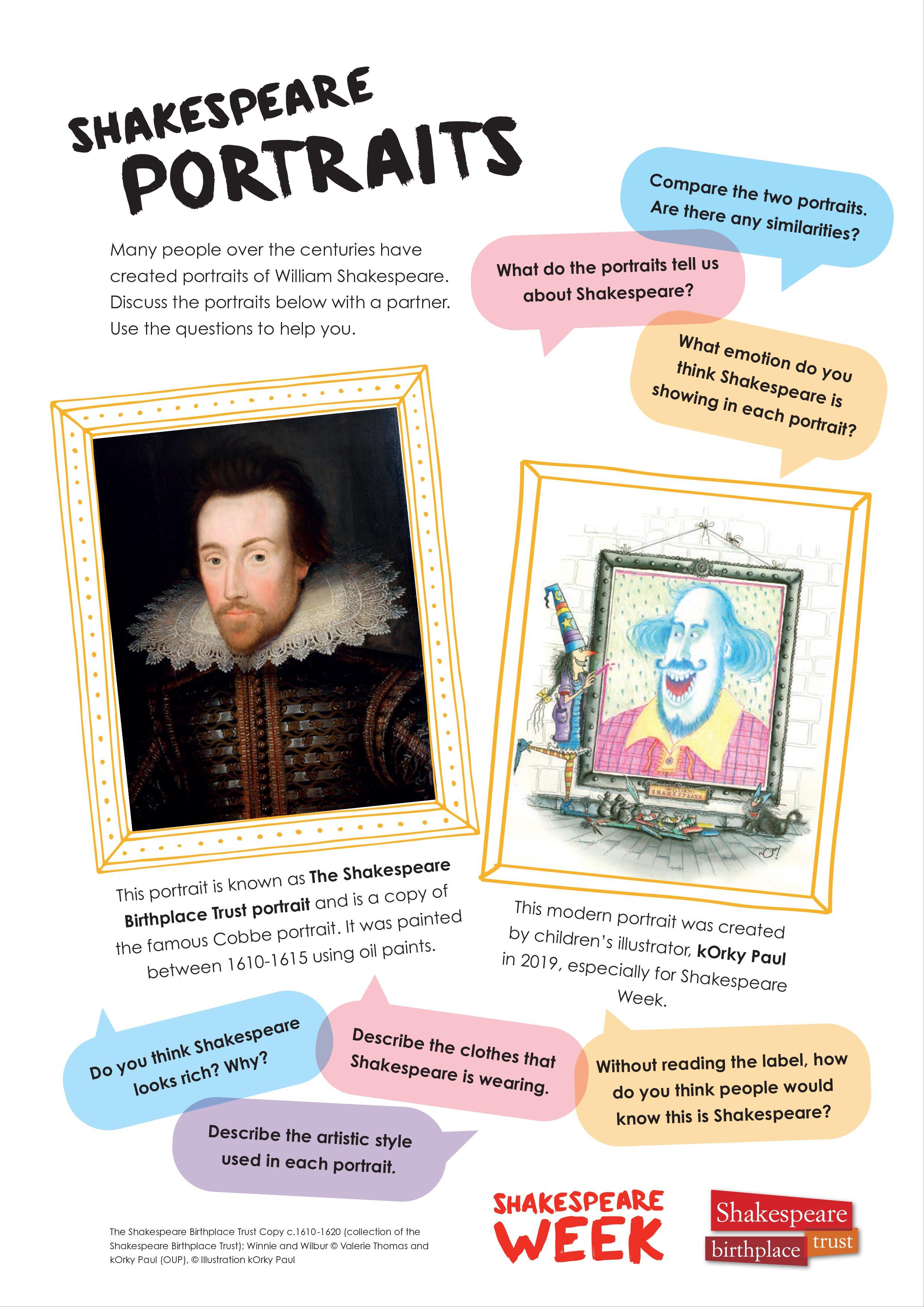Shakespeare Portraits