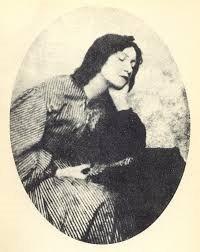 Eleanor Elizabeth Siddal c.1860 painted byWilliam Holman Hunt  (Wikipedia)