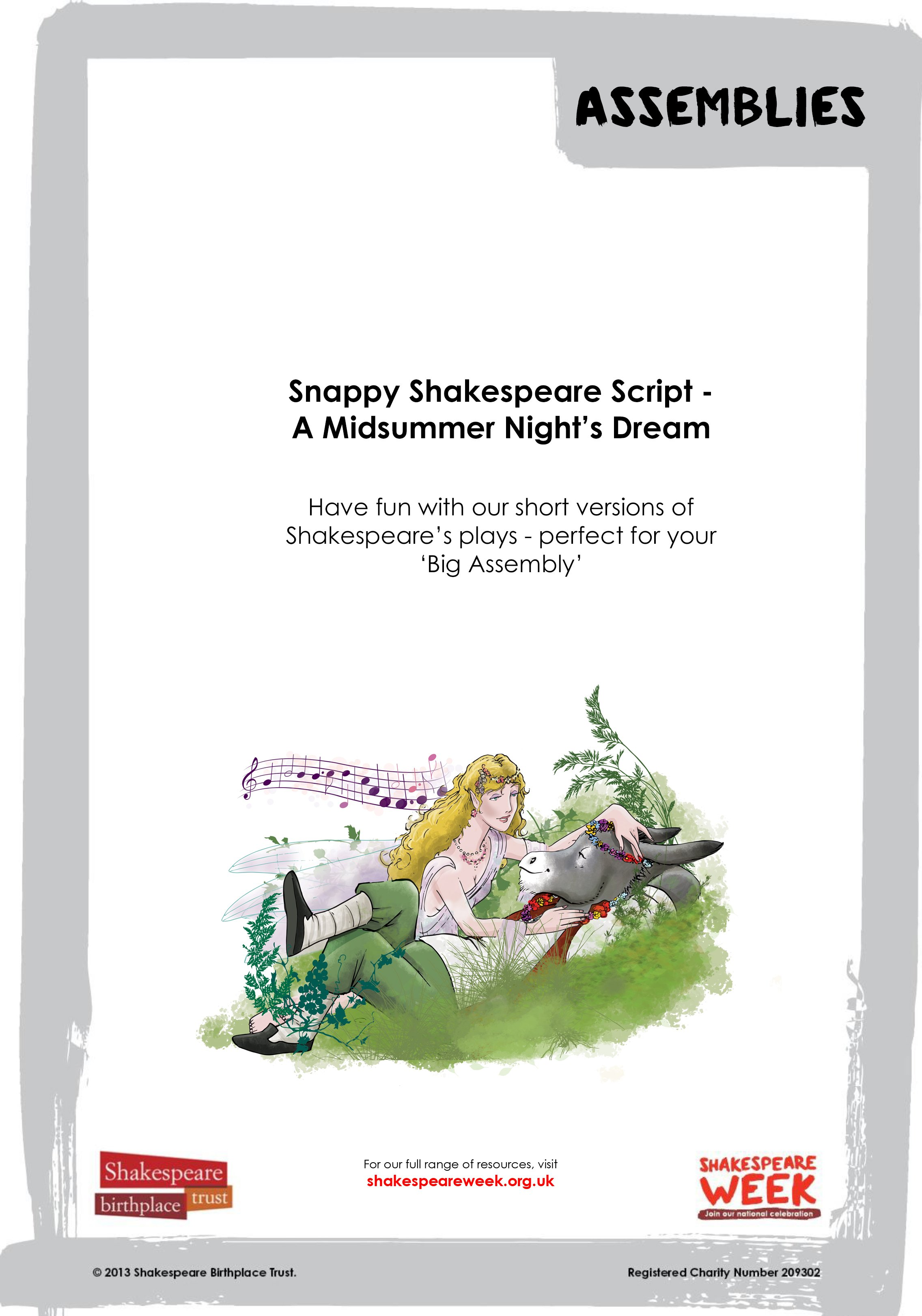 Snappy Shakespeare MSND