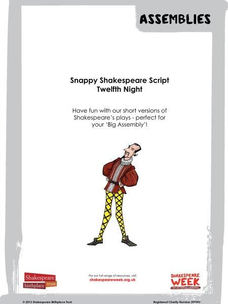 Snappy Shakespeare - Twelfth Night