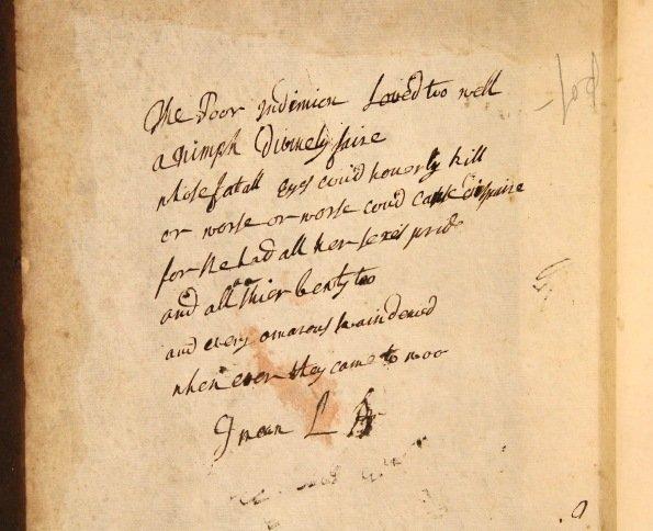 Fourth Folio Song