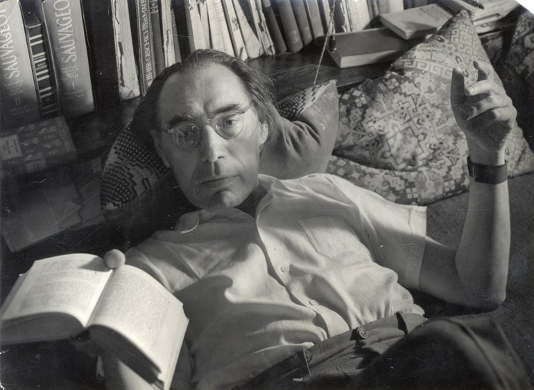 Hungarian translator Lőrinc Szabó