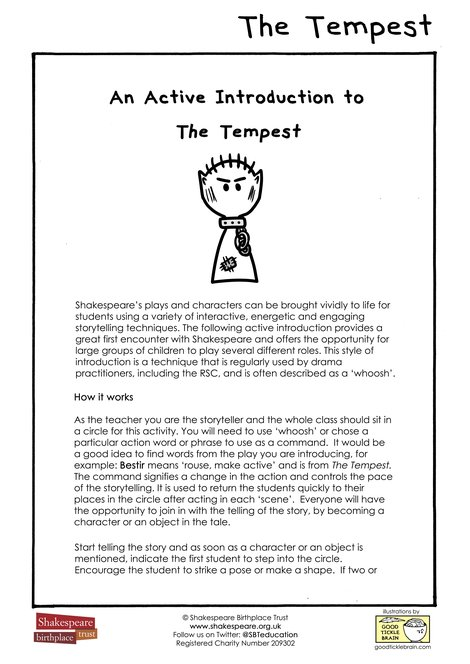 An Active Introduction To The Tempest