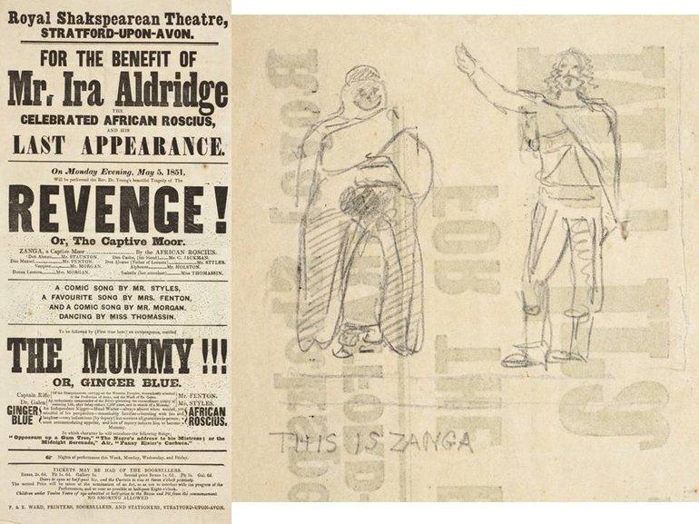 Playbill for 'Revenge!'