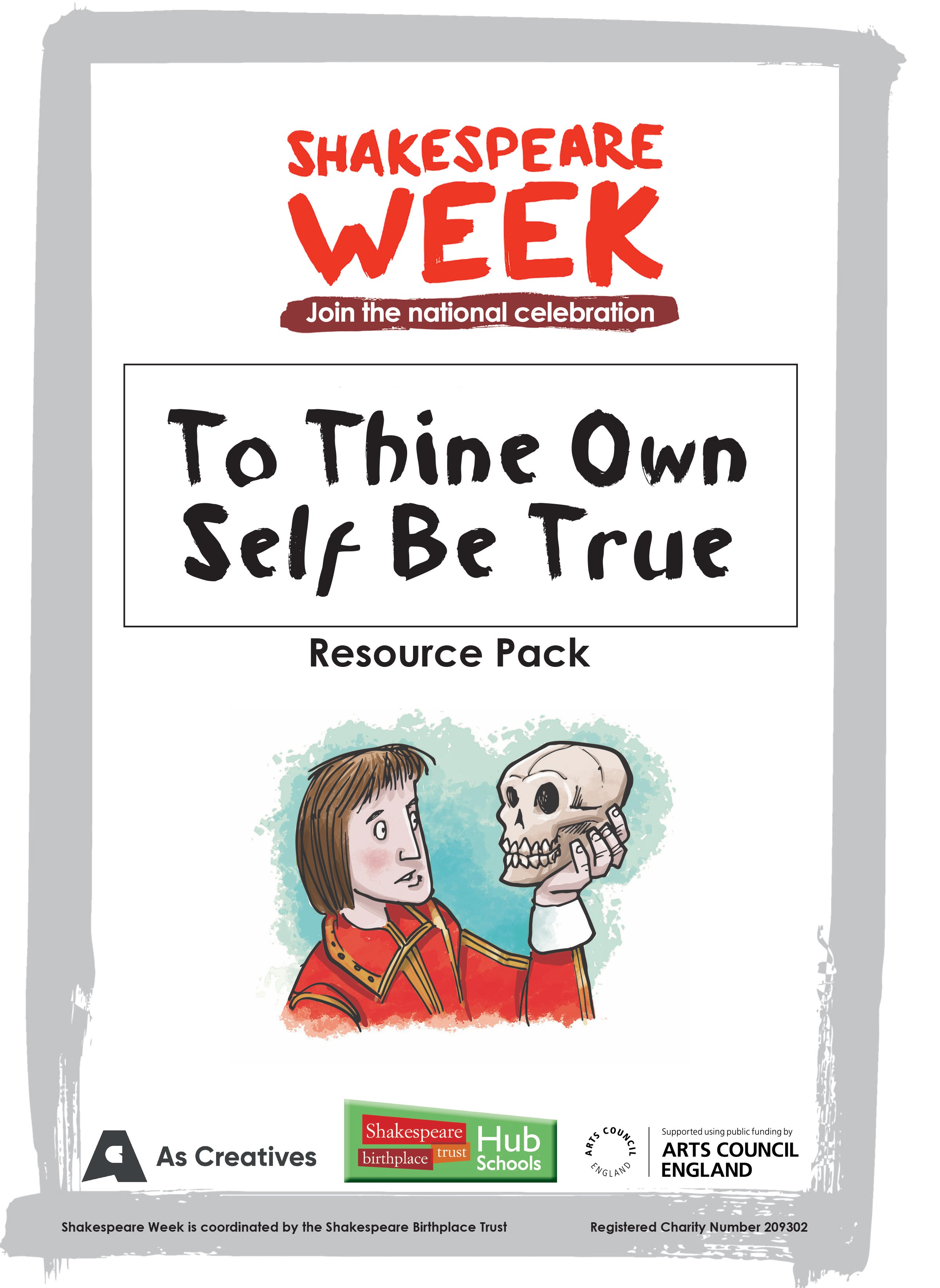 'To thine own self be true' Poetry and Writing Resource Pack cover.jpg