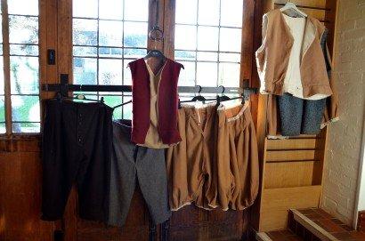 Tudor Clothes at MAF