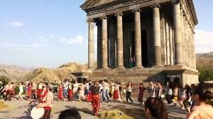 Vardavar Day at Garni Temple (I century A.D.)