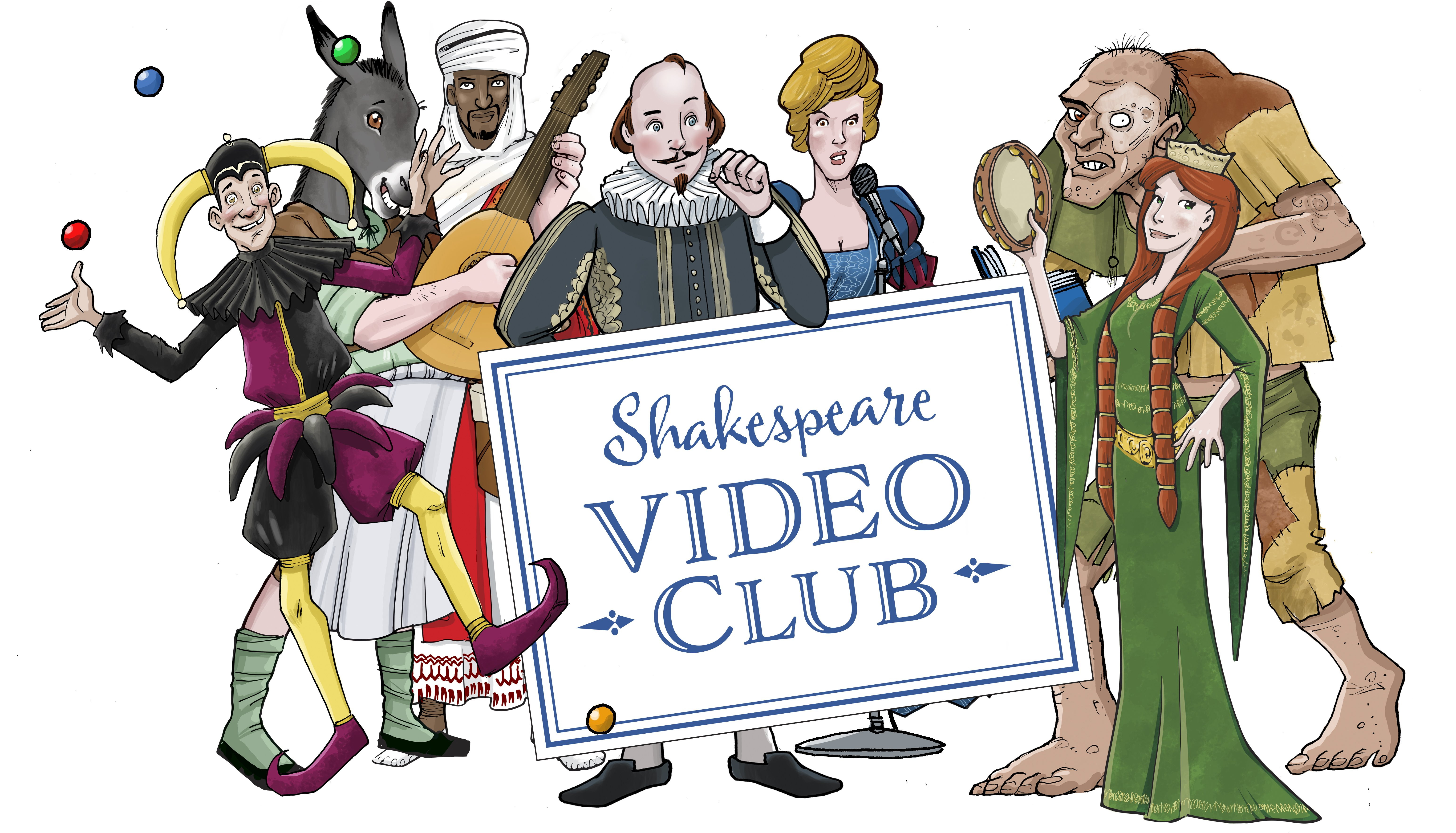Creating a Shakespeare Cartoon